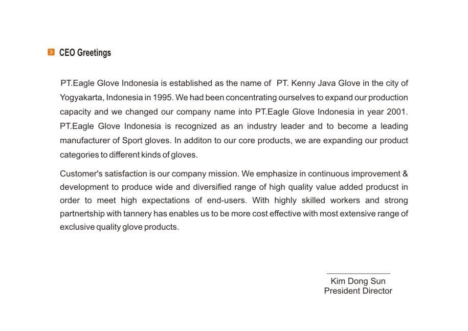 Eagle Glove Indonesia :::::